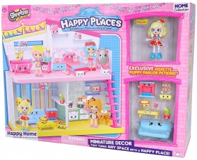 Formatex Shopkins Happy Places Happy Home Domek Popette 56179