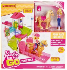 Mattel Barbie On The Go Wyścig Kucyków FHV66