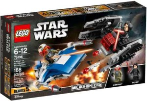 Lego Star Wars TM A-Wing kontra TIE Silencer 75196