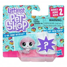 Hasbro Littlest Pet Shop Mini 2-pak Chunky Waterfluff + Mayor Perrito B9389 E0945