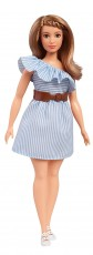 Mattel Barbie Fashionistas Purely Pinstriped FBR37 FJF41