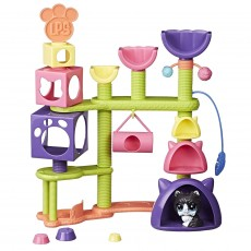 Hasbro Littlest Pet Shop Koci Plac Zabaw E2127