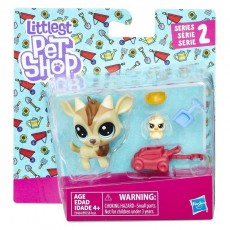 Hasbro Littlest Pet Shop Para zwierzaków Quincy Goatee & Chickles Scrapper B9358 E0464