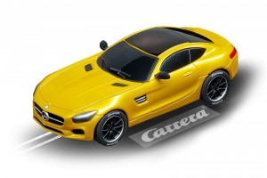 Carrera Auto GO!!! Mercedes-A MG GT Coupe solarbeam 64119