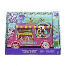 Hasbro Littlest Pet Shop Zwierzakowy Food Truck E1840