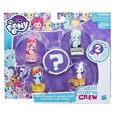 Hasbro My Little Pony Cutie Mark Party Performers E0193 E2729