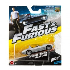 Mattel Hot Wheels Szybcy i Wściekli Corvette Grand Sport FCF35 FCF55