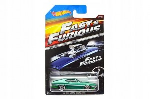 Mattel Hot Wheels Szybcy i Wściekli Ford Grand Torino Sport '72 CKJ49 CJL33