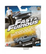Mattel Hot Wheels Szybcy i Wściekli Ice Charger FCF35 FCF58