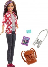 Mattel Barbie Dreamhouse Adventures Skipper w Podróży FWV17