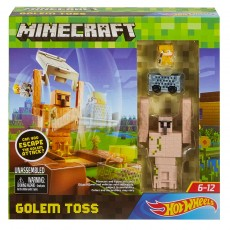 Mattel Hot Wheels Minecraft Żelazny Golem DPW22 DPW26