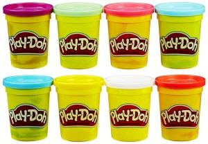 Hasbro Play-Doh 8 Tub C3899