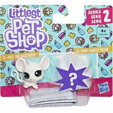 Hasbro Littlest Pet Shop Mini 2-pak Zoe Housemouse+Guinsey Pigson B9389 E0949