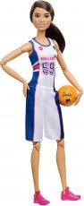 Mattel Barbie Made to Move Sportowa Koszykarka  DVF68 FXP06