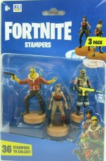 Fortnite Figurki Stampers 3-pak Battle Hound, Raptor & Renegade Raider