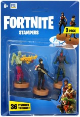 Fortnite Figurki Stampers 3-pak Love Ranger, Shadow Ops & Fly Trap