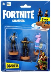 Fortnite Figurki Stampers 3-pak Rapscallion, Dark Voyager & Loot Llama