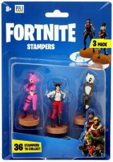 Fortnite Figurki Stampers 3-pak Red Nosed Raider & P.A.N.D.A Team Leader & Cuddle Team Leader