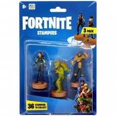 Fortnite Figurki Stampers 3-pak Steelsight, Rex & Wukong