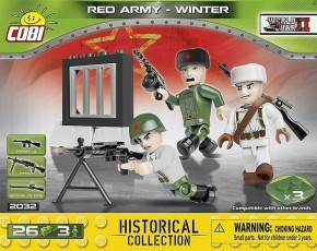 Cobi Klocki Red Army Winter 26k 2032
