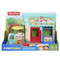 Fisher Price Little People Cukiernia Zestaw GNC60