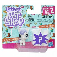 Hasbro Littlest Pet Shop Mini 2-pak Dash Horseton+May Duckly B9389 E0950