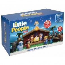 Fisher Price Little People Szopka Bożonarodzeniowa J2404