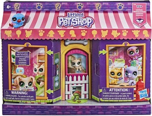 Hasbro Littlest Pet Shop Ultimate Pet Shop Zestaw 15 Niespodzianek E7428
