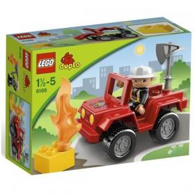 Klocki Lego Duplo Policja I Straż Dowódca Straży Pożarnej 6169