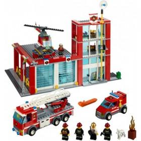 Klocki Lego City Straż Pożarna Remiza Strażacka 60004 Leg60004