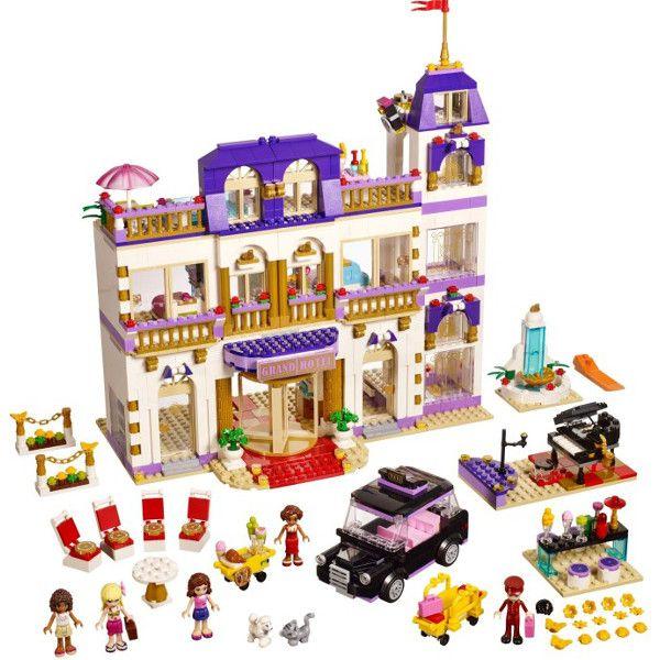 Klocki Lego Friends Grand Hotel W Heartlake 41101 Leg41101 Gugu