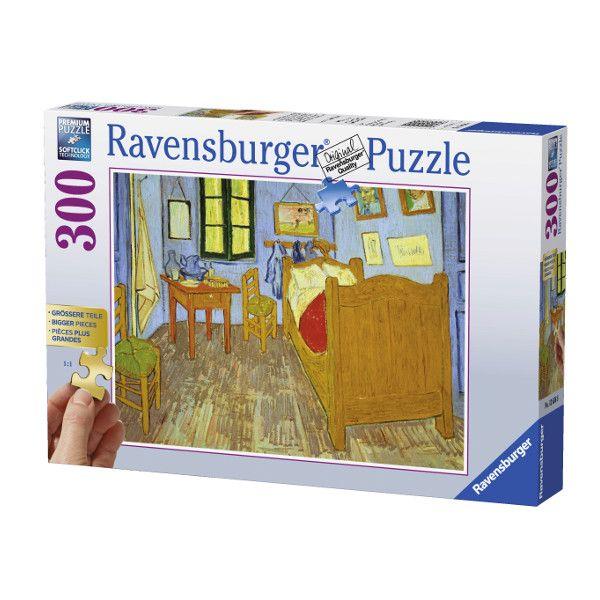 Ravensburger Puzzle Xxl Vincent Van Gogh Sypialnia 300 Elementów 136568