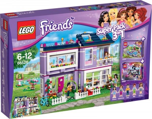Lego Friends Super Pack 3 W 1 66526 66526 Gugu Zabawki