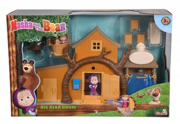 Simba Figurki Masza I Niedźwiedź Dwupoziomowy Dom Niedźwiedzia 109301032