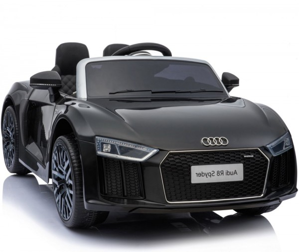 Auto Audi R8 Spyder Czarne Na Akumulator 5902808151913 Gugu Zabawki